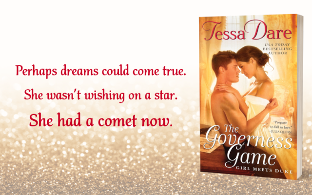 Teaser Graphic 1 - The Governess Game by Tessa Dare
